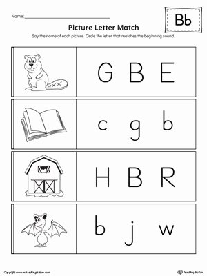 Abc Matching Worksheets for Preschoolers Inspirational Coloring Pages 54 Matching Worksheets for Preschool Image