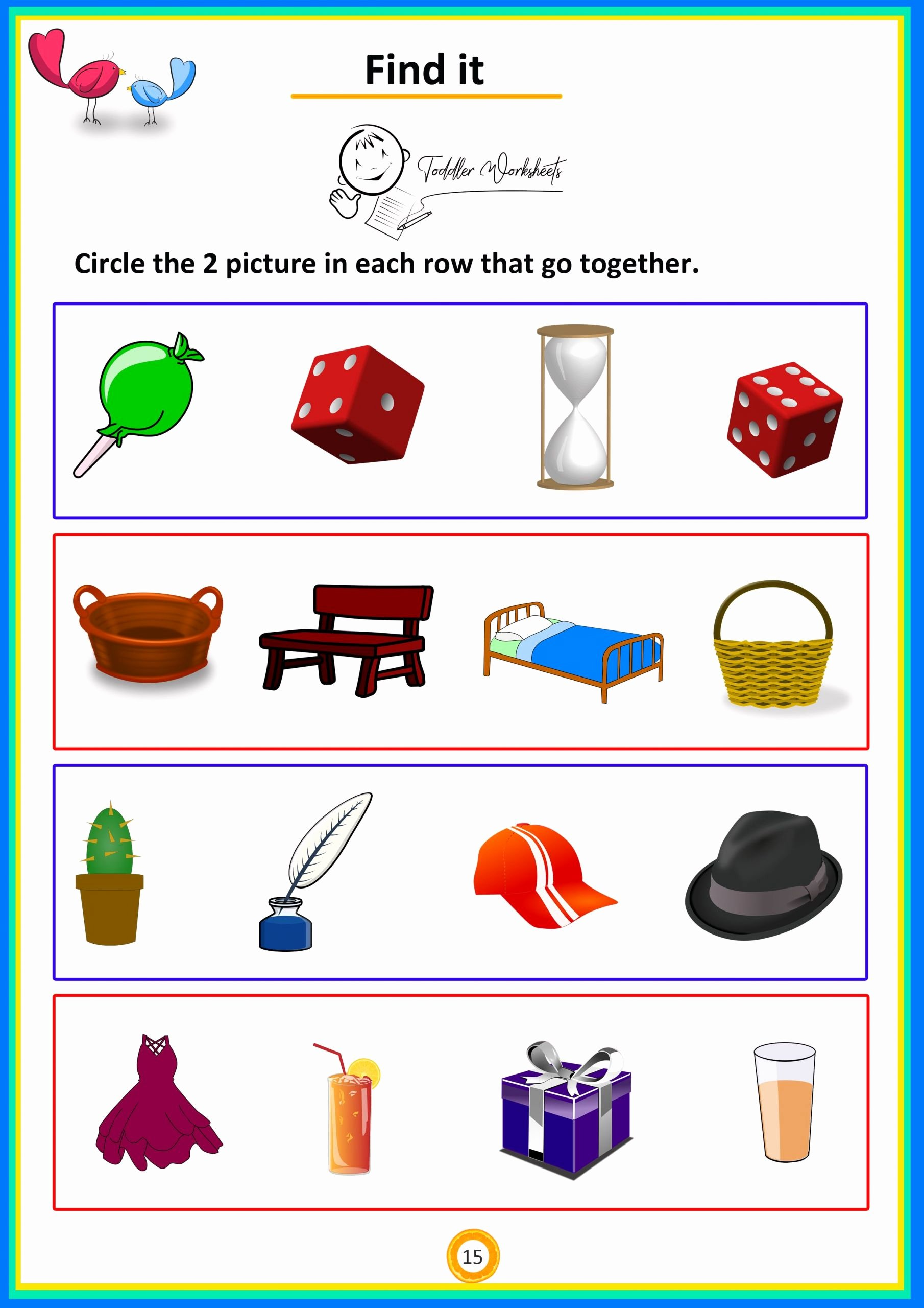 Addition Worksheets for Preschoolers Lovely Summer Math Worksheets Preschool Simple for