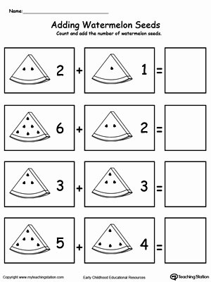 Addition Worksheets for Preschoolers Printable Preschool Addition Printable Worksheets