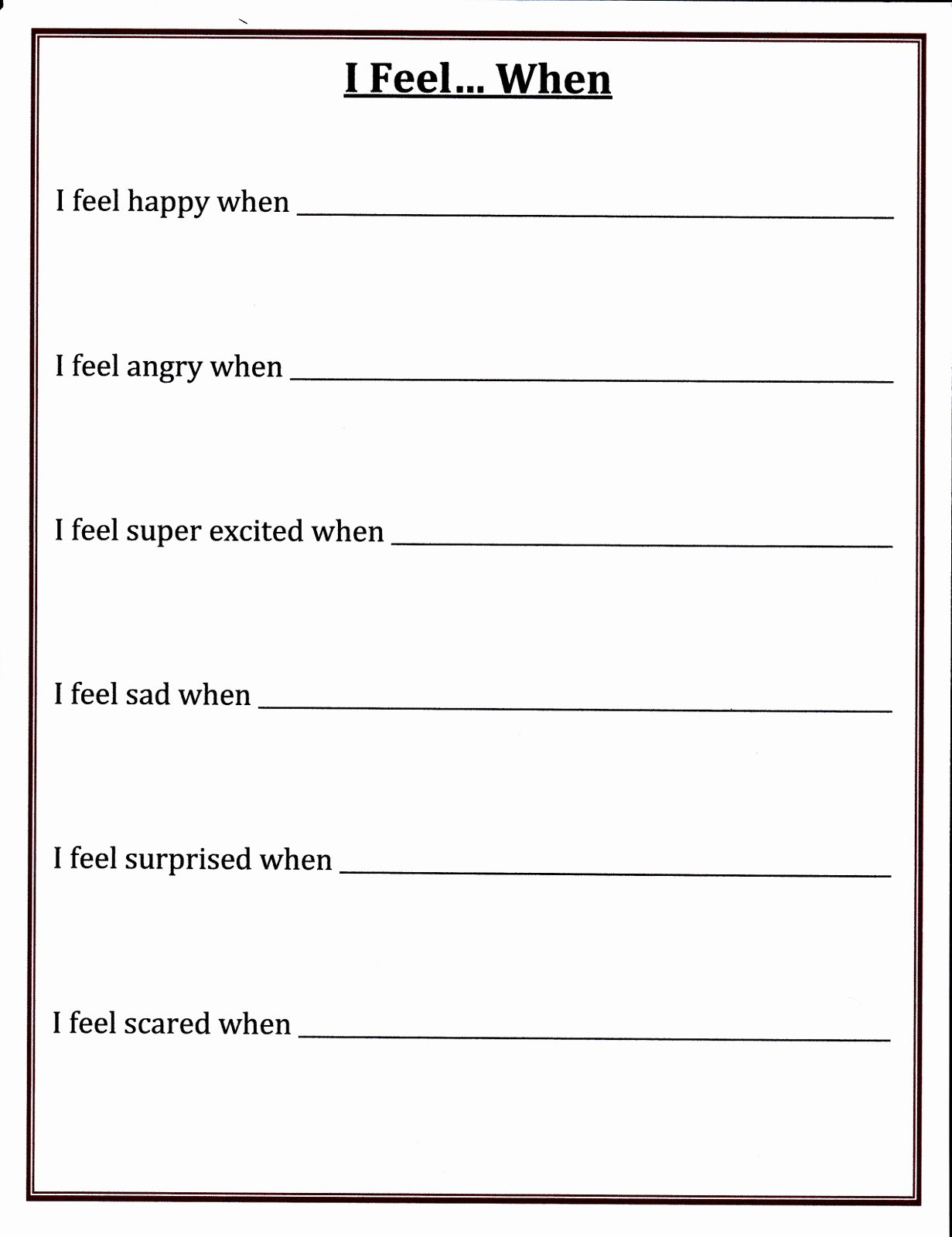 Adhd Worksheets for Preschoolers Fresh Adhd Worksheets for Kids