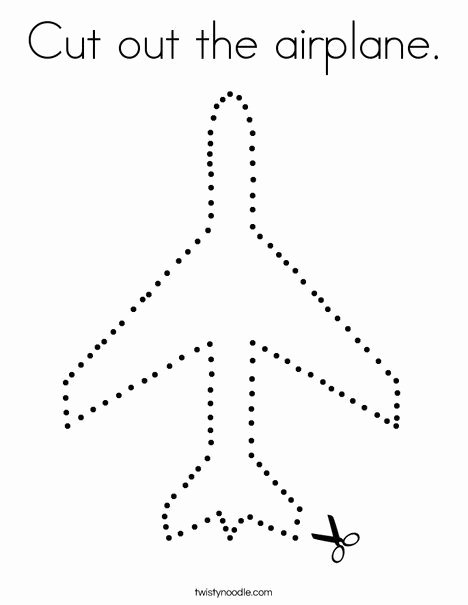 Airplane Worksheets for Preschoolers Best Of Pin On Cutting Practice