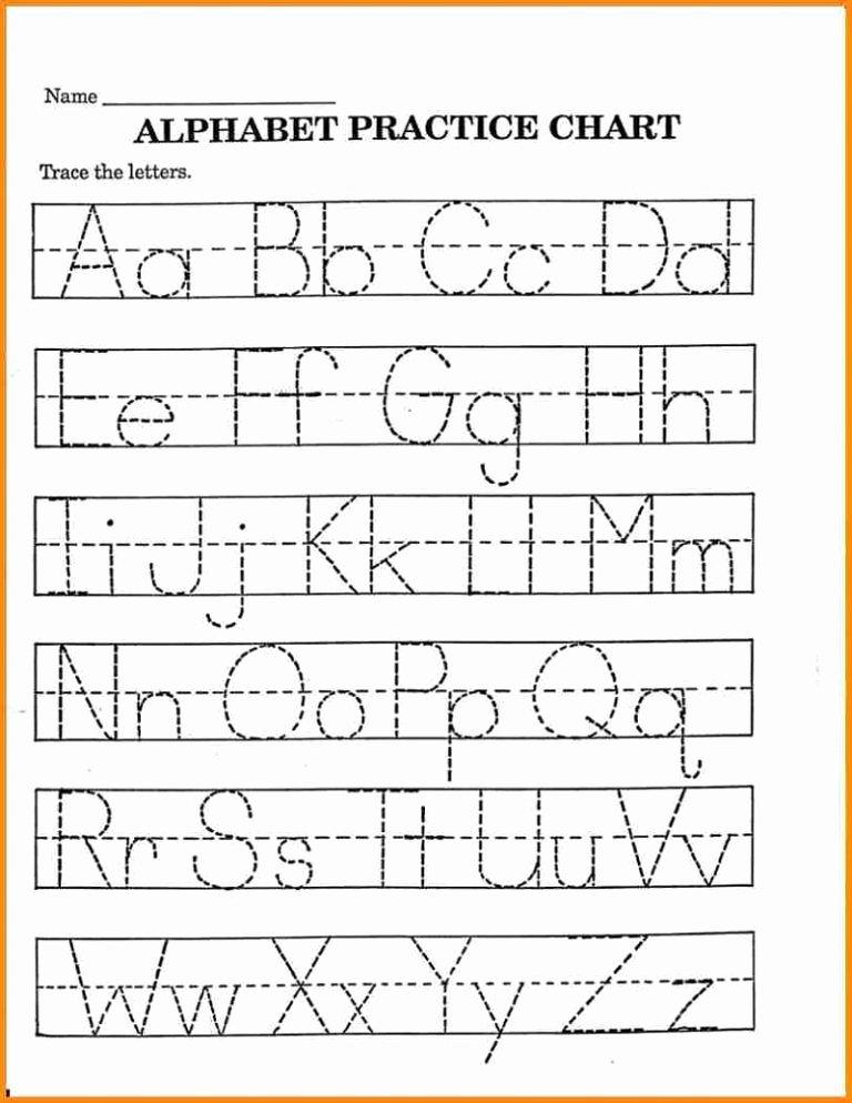 Alphabet Learning Worksheets for Preschoolers Best Of Pre K Math Worksheets Printable