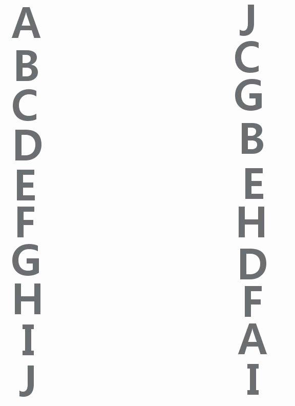 Alphabet Matching Worksheets for Preschoolers Kids Letters A J Match Up Worksheet