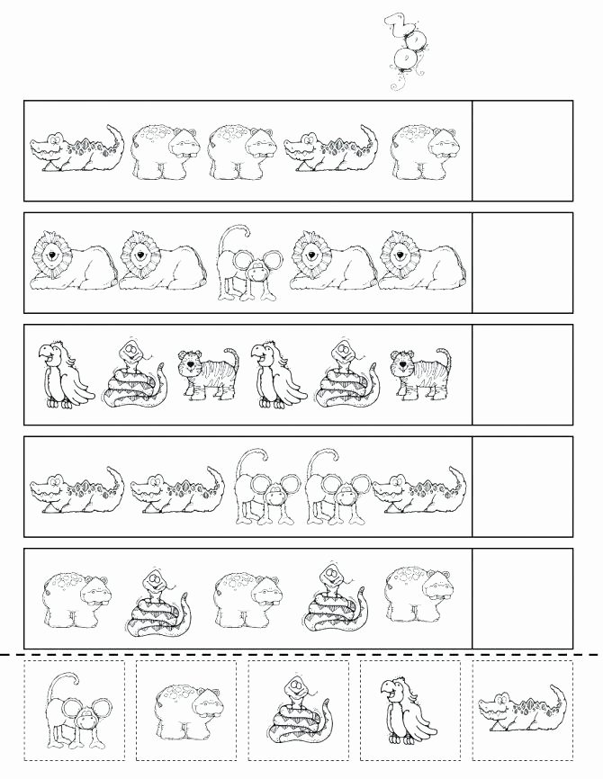 Animal Worksheets for Preschoolers Free Pets Worksheets for Preschool Leter Zoo Animals Kindergarten