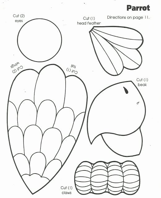 Arts and Crafts Worksheets for Preschoolers top Parrot Arts and Crafts for Kids Google Zoeken