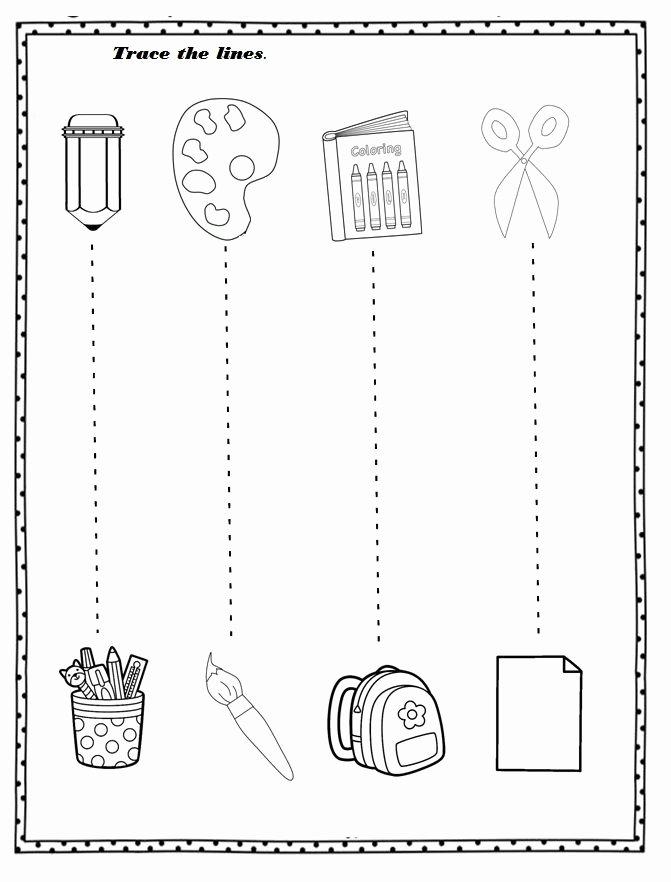 Back to School Worksheets for Preschoolers Kids Free Printable Back to School Worksheet for Preschoolers