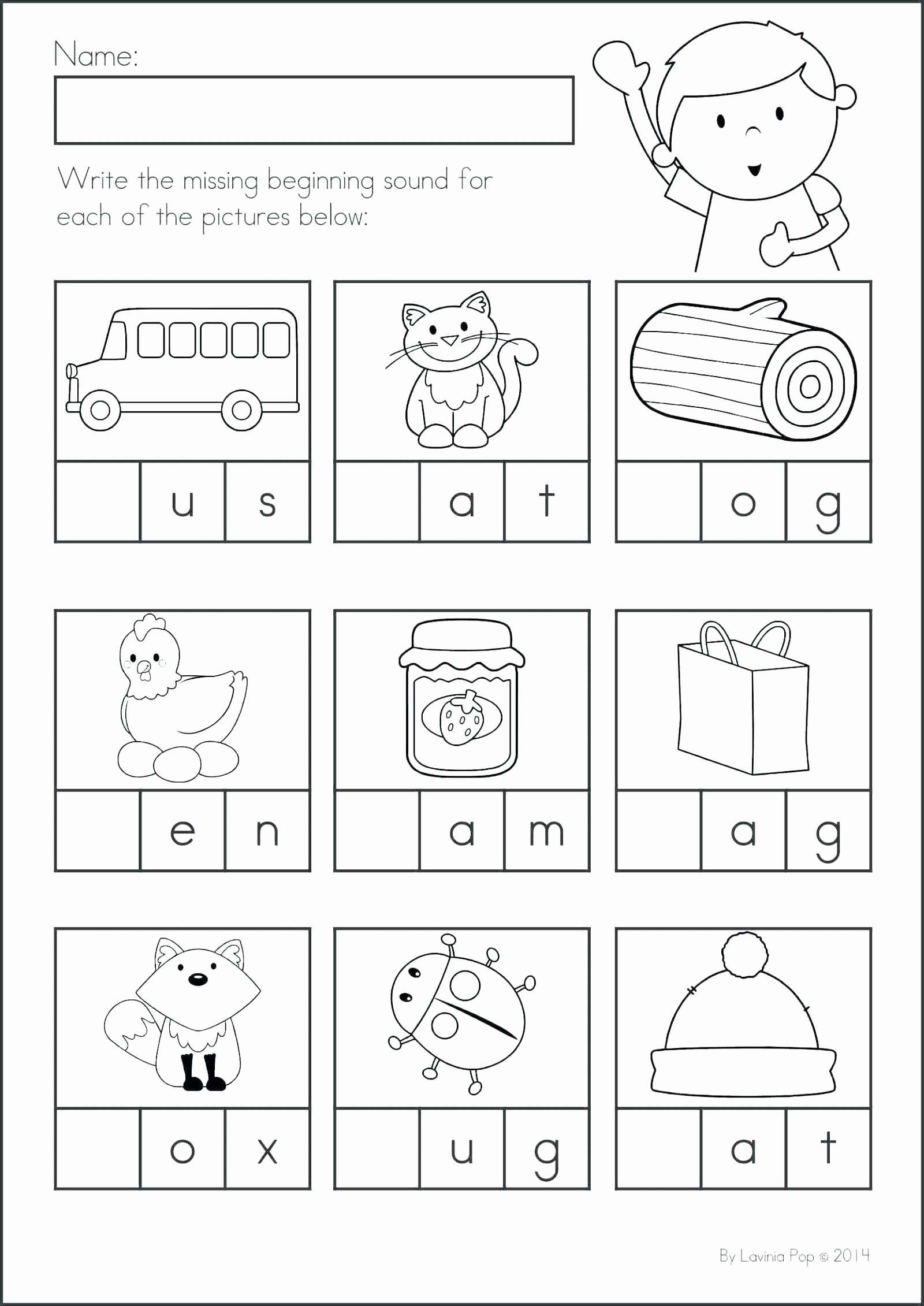 Beginning sounds Worksheets for Preschoolers Free 47 Preschool Worksheets Letters Beginning sounds