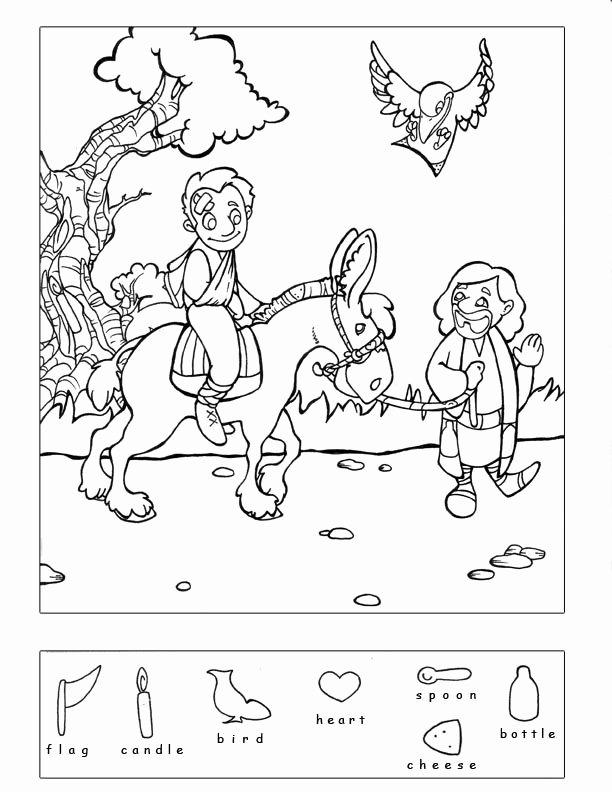 Bible Story Worksheets for Preschoolers Best Of Good Samaritan & 9 Other Bible Story Hidden Puzzles Coloring