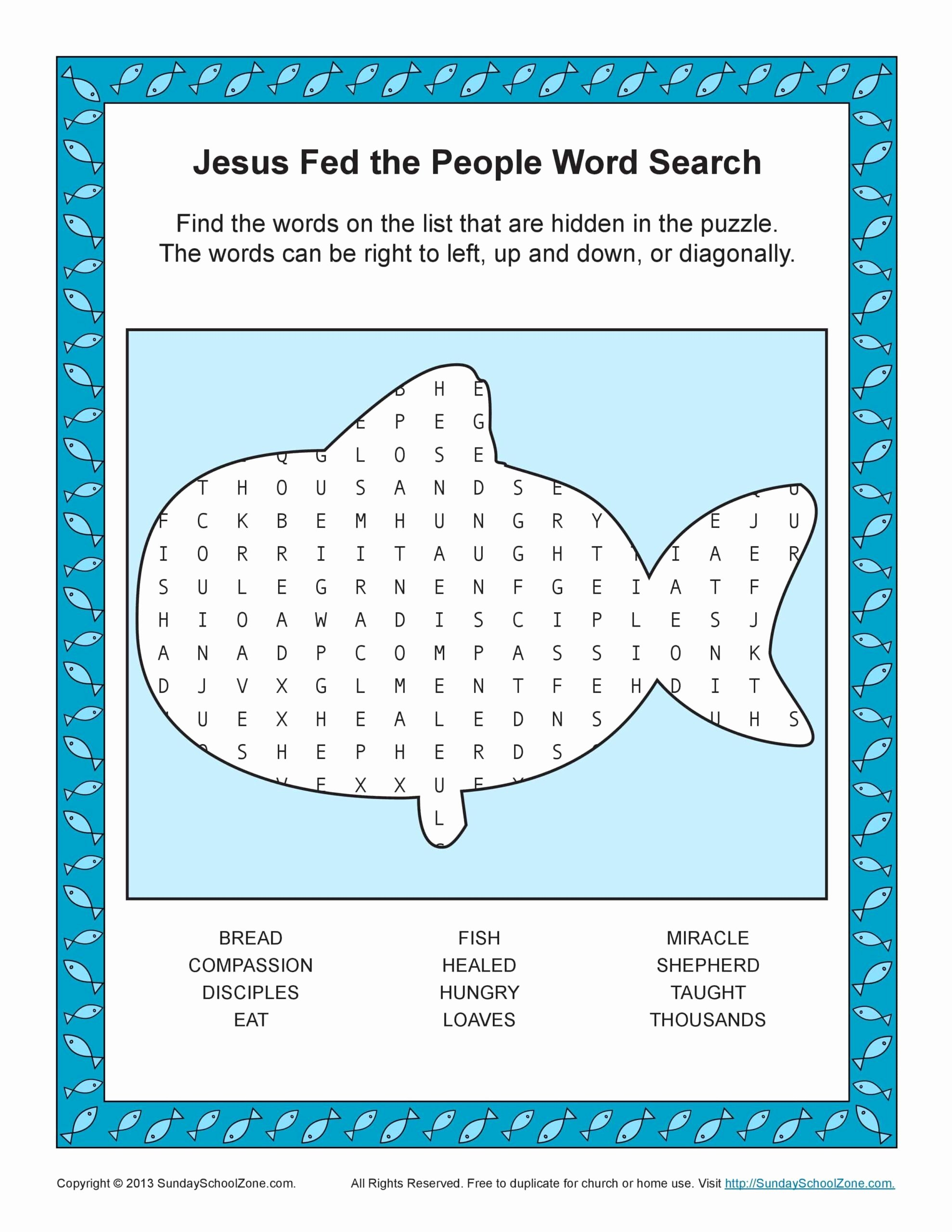 Bible Story Worksheets for Preschoolers Ideas Free Printable Bible Word Search Activities Sunday School