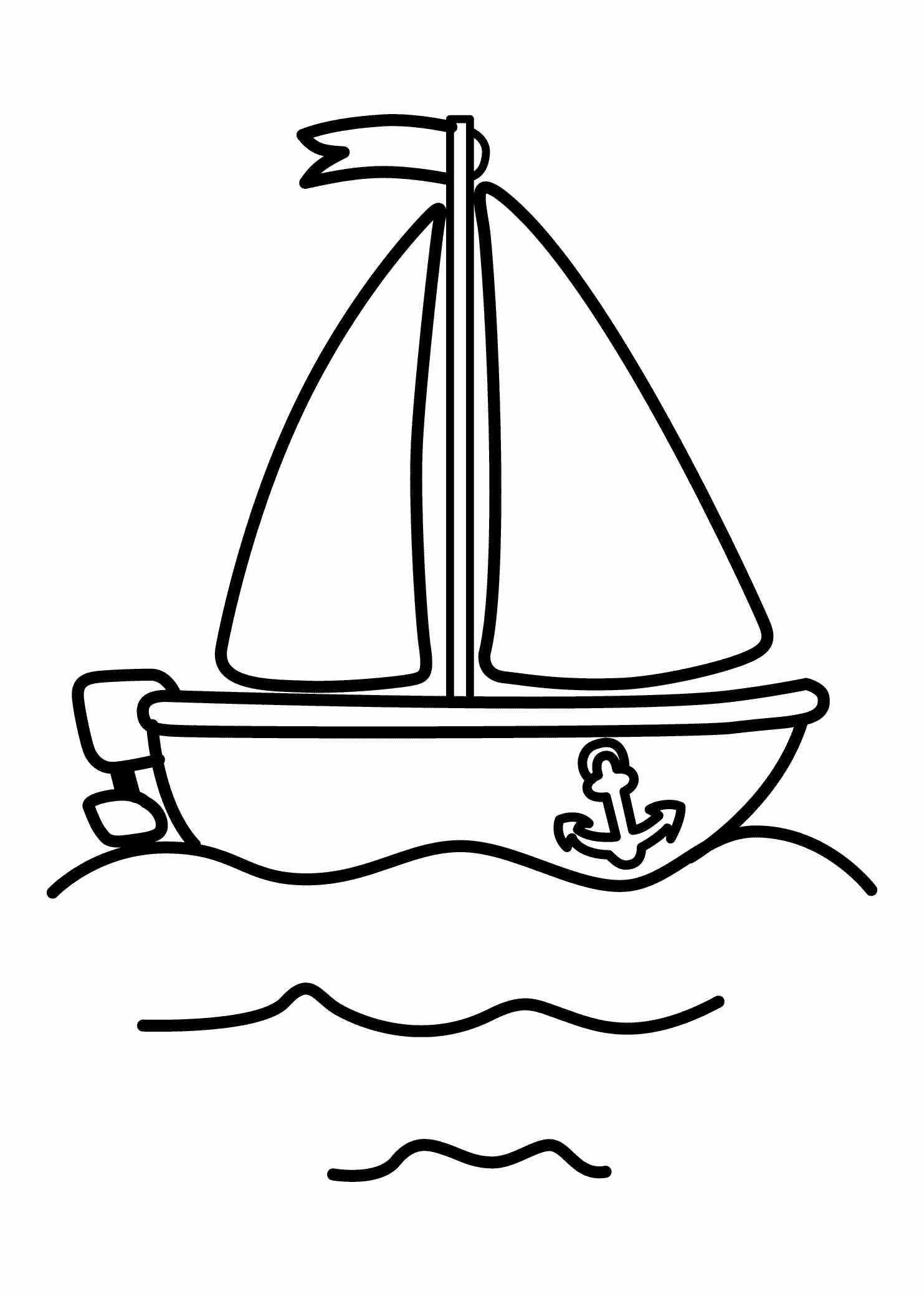 Boat Worksheets for Preschoolers Fresh 21 Printable Boat Coloring Pages Free Download