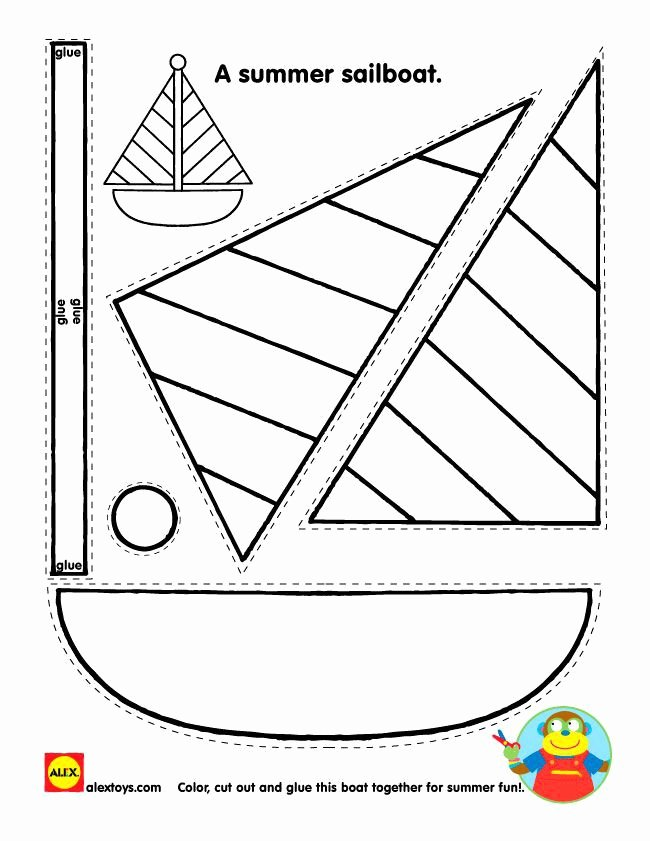 Boat Worksheets for Preschoolers Ideas Cutting Worksheet Boat Worksheets