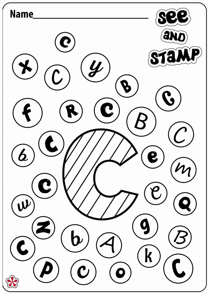 C Printable Worksheets for Preschoolers Best Of Letter Worksheet for Preschool Printable Worksheets and