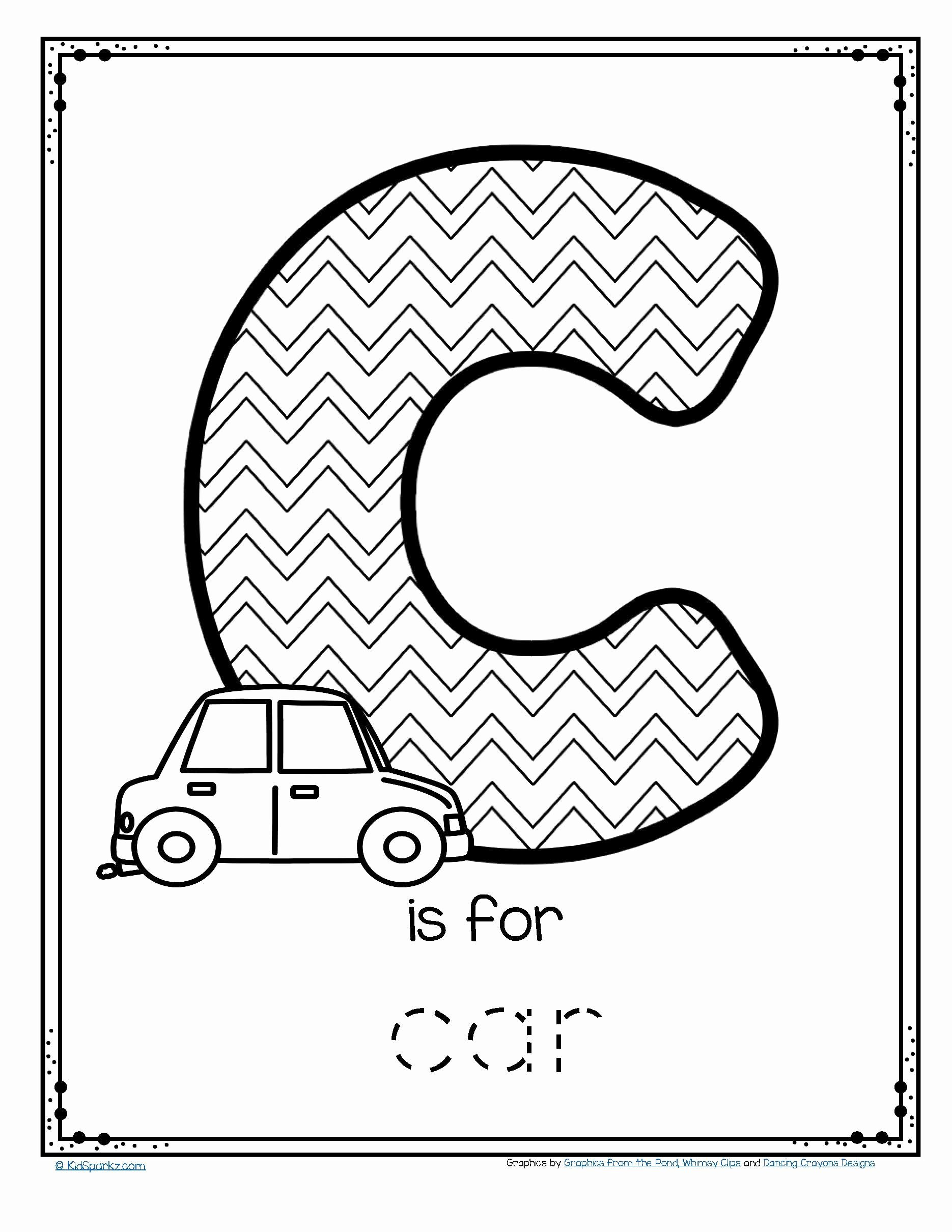 Car Worksheets for Preschoolers top Worksheets Free is for Car Trace and Color Printable