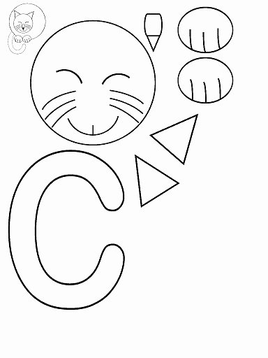 Cat Worksheets for Preschoolers Fresh Cut Paste Cat