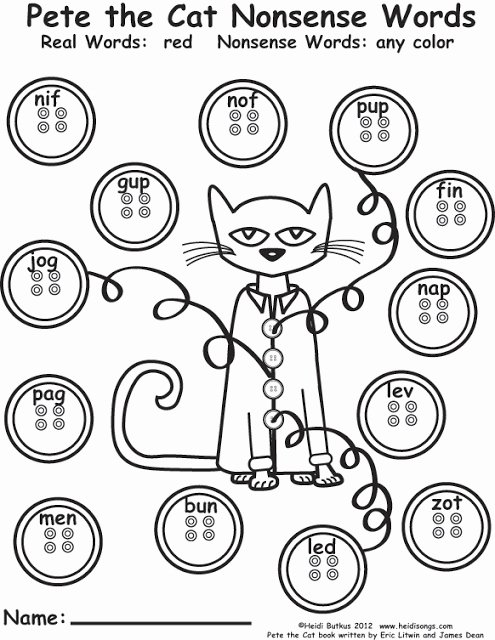 Cat Worksheets for Preschoolers Fresh Pete the Cat Freebies Guided Drawing and More Worksheets