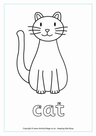 Cat Worksheets for Preschoolers top Cat Worksheets