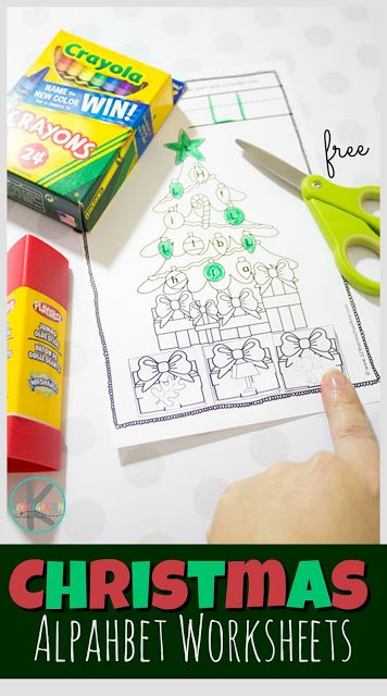 Christmas Alphabet Worksheets for Preschoolers Inspirational Free Christmas Alphabet Worksheets