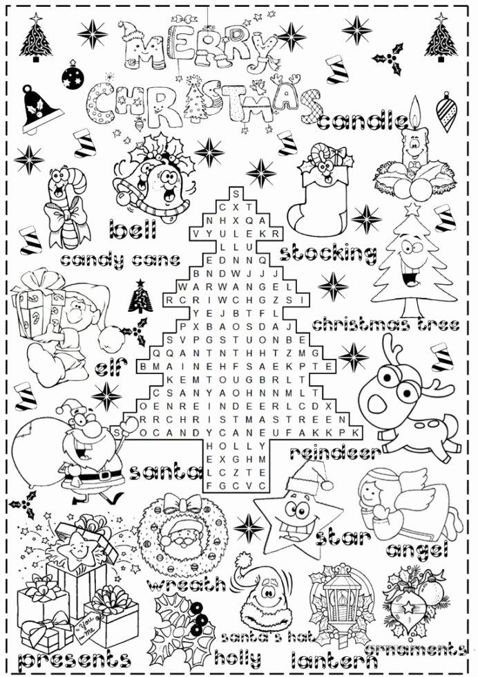 Christmas Worksheets for Preschoolers Kids English Esl Christmas Worksheets Most Downloaded Results Fun