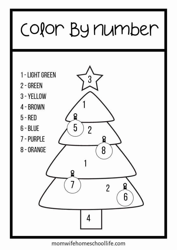 Christmas Worksheets for Preschoolers Kids Free Preschool Christmas Worksheets – Mom Wife Homeschool Life