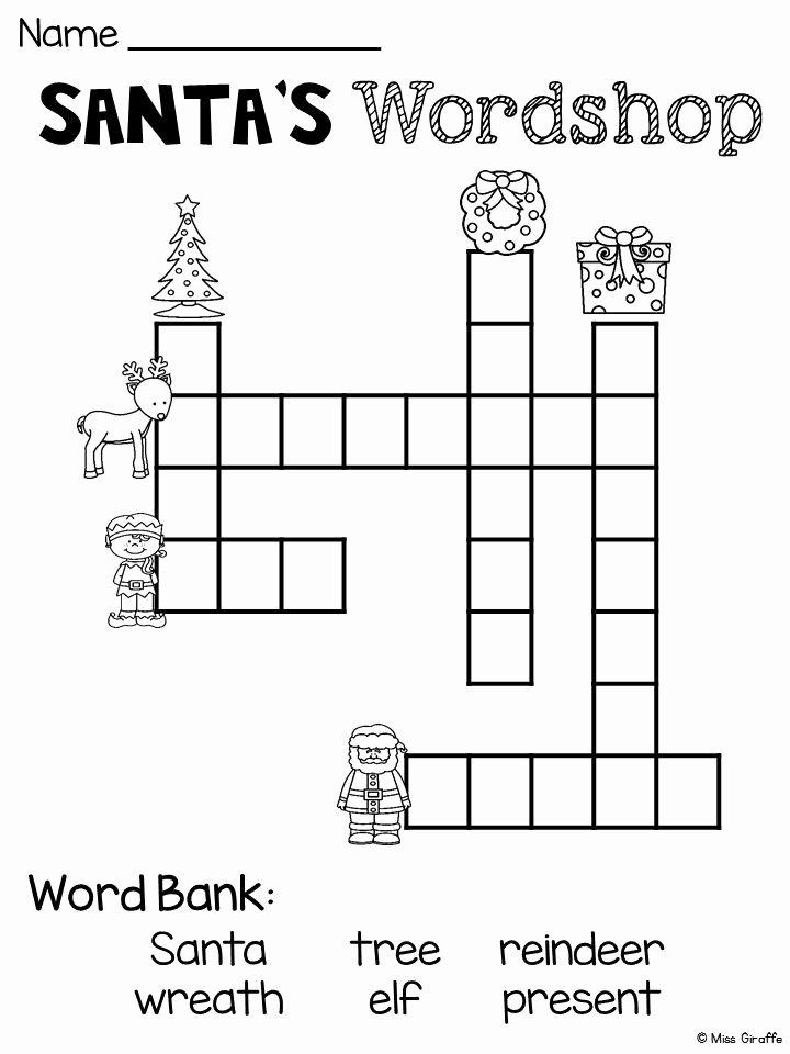 Christmas Worksheets for Preschoolers Lovely Free Christmas No Prep Worksheets Fun Math Number Puzzles