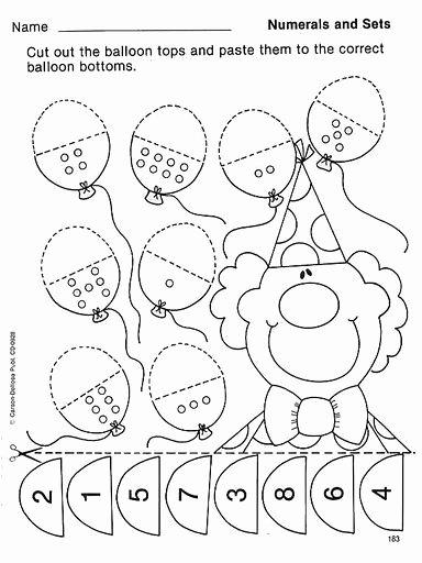 Circus Worksheets for Preschoolers Printable Tellen