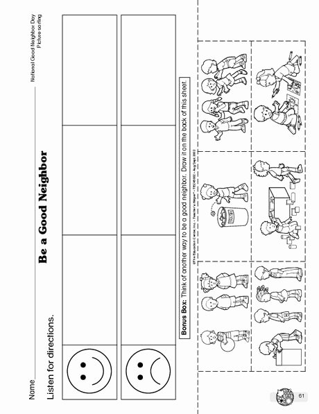 Classroom Rules Worksheets for Preschoolers Kids School Rules Worksheet 1