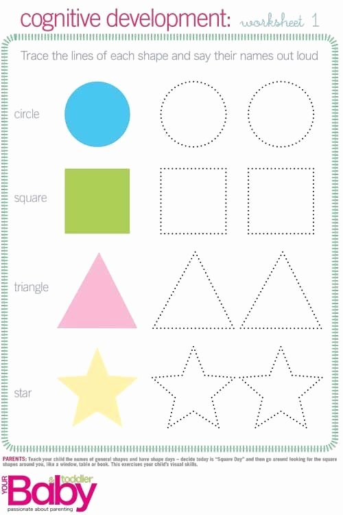 Cognitive Development Worksheets for Preschoolers Fresh Print It School Readiness Work Sheets