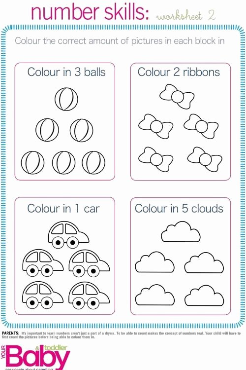 Cognitive Development Worksheets for Preschoolers Lovely Print It School Readiness Work Sheets