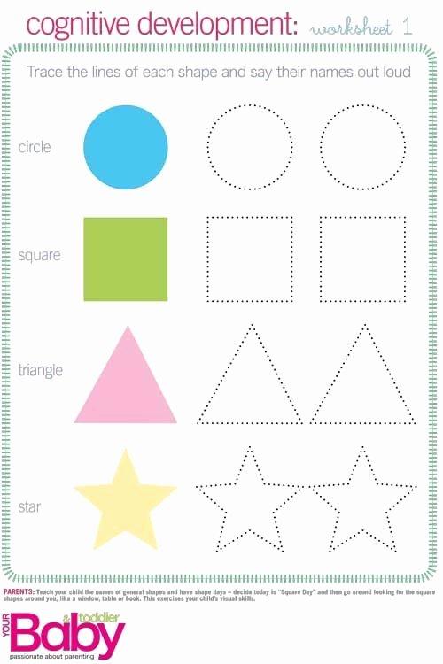 Cognitive Skills Worksheets for Preschoolers Fresh Print It School Readiness Work Sheets