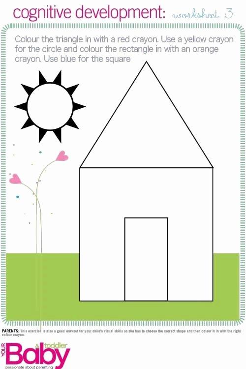 Cognitive Skills Worksheets for Preschoolers Kids Print It School Readiness Work Sheets