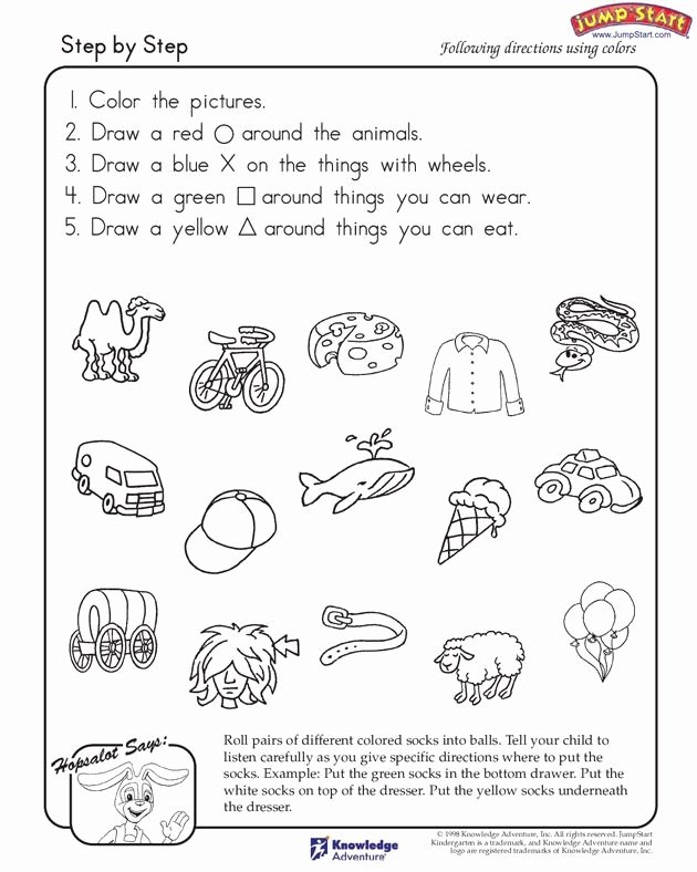 Cognitive Worksheets for Preschoolers Best Of Step by Step – Critical Thinking and Logical Reasoning