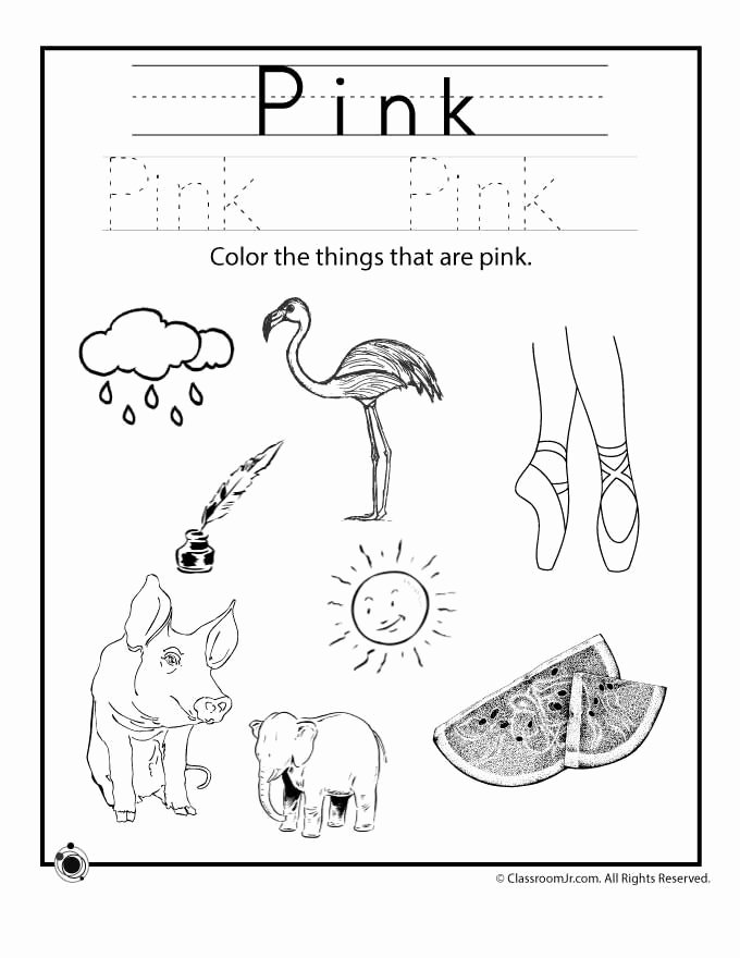 Color Black Worksheets for Preschoolers Best Of Learning Colors Worksheets for Preschoolers Color Black