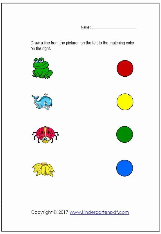 Color Recognition Worksheets for Preschoolers Lovely Coloring Pages Splendi Color Recognition Worksheets