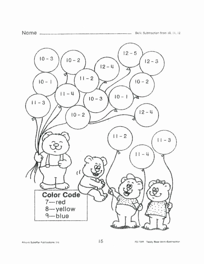 Coloring Activity Worksheets for Preschoolers Free Worksheet Activities for Kids Printable Coloring