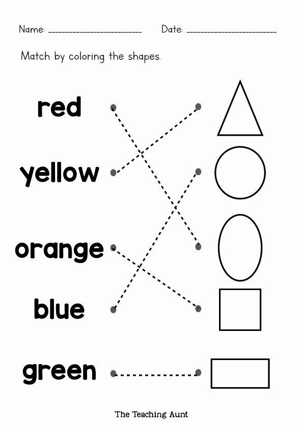 Colors Worksheets for Preschoolers Free Printables Free Coloring Pages Free Printable Color Worksheets Free