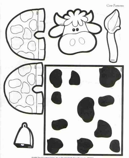 Cow Worksheets for Preschoolers Kids Crafts Actvities and Worksheets for Preschool toddler and