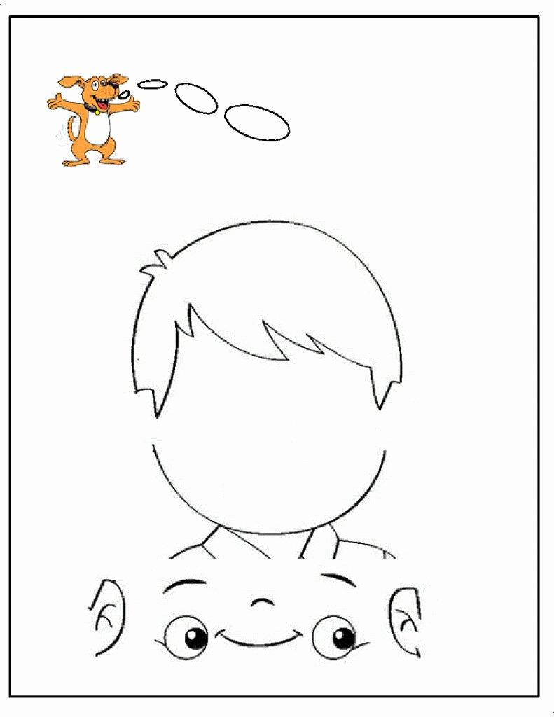 Dltk Worksheets for Preschoolers Ideas Printable Coloring Dltk Pages Five Senses Kindergarten My