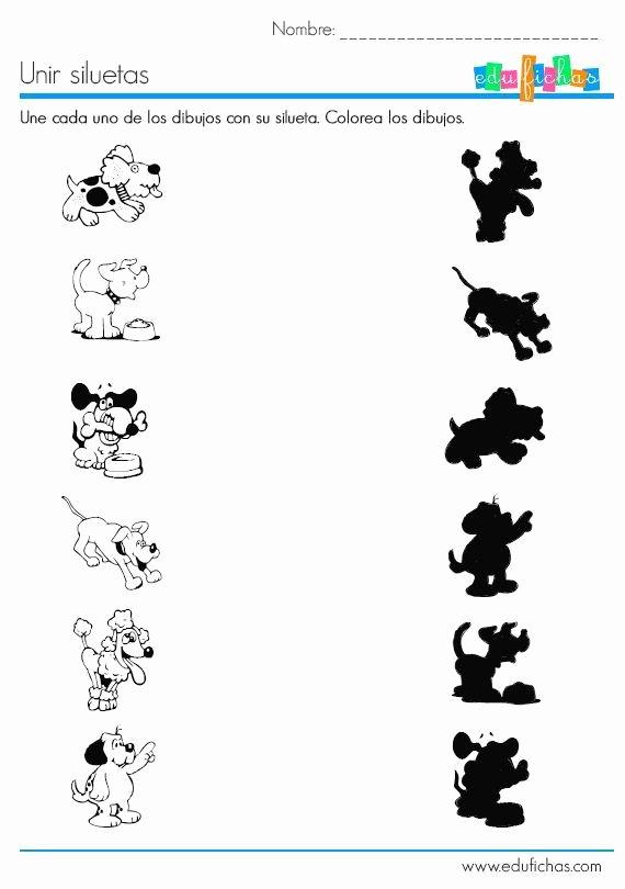 Dog Worksheets for Preschoolers top Dog Shadow Worksheet