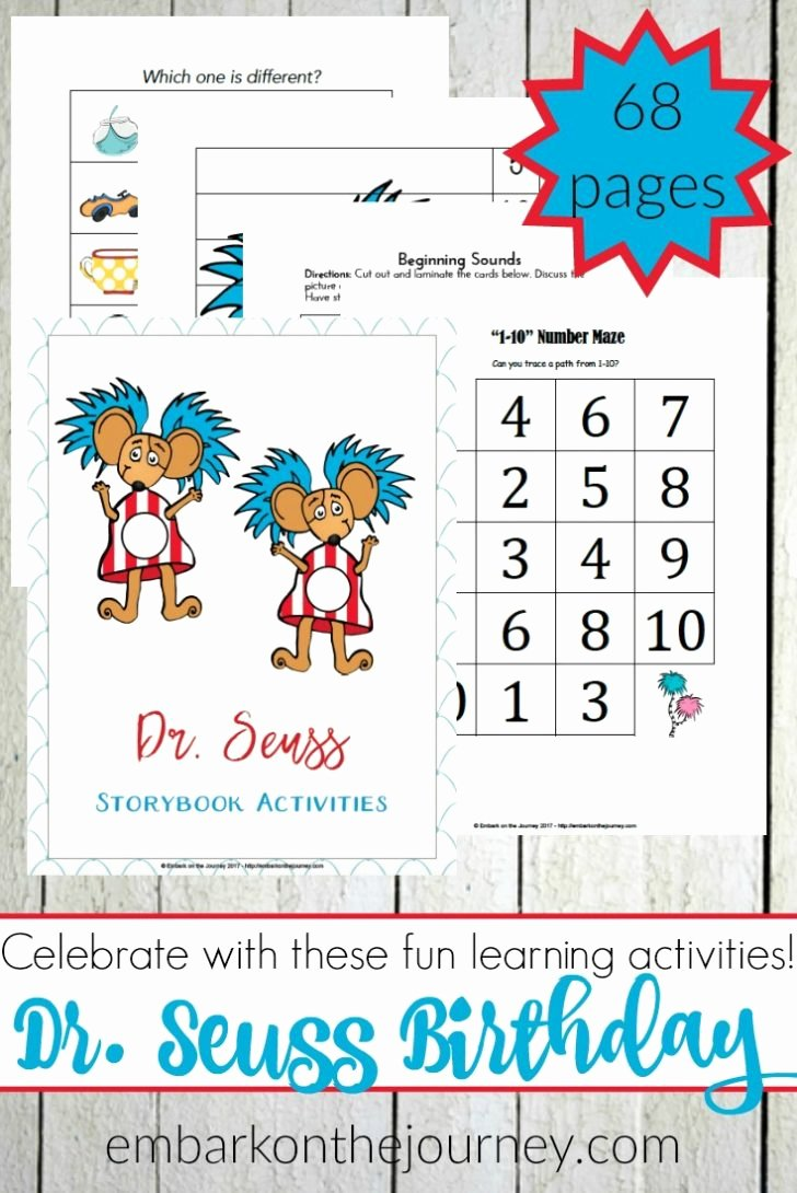 Dr Seuss Worksheets for Preschoolers Free Coloring 21 Splendi Dr Seuss Printables Free Dr Seuss