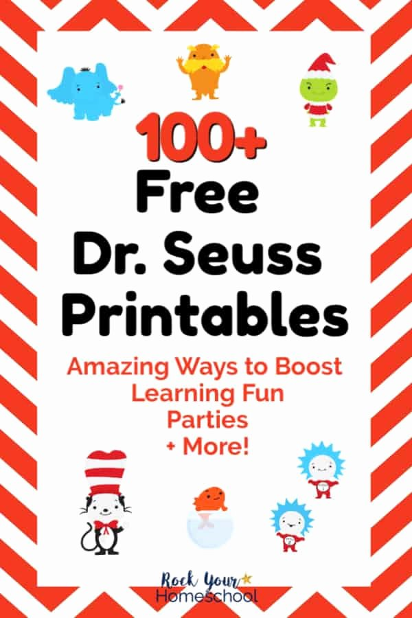 Dr Seuss Worksheets for Preschoolers Ideas 100 Free Dr Seuss Printables & Activities for Fantastic