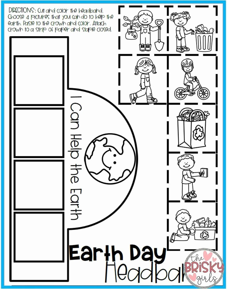 Earth Day Worksheets for Preschoolers Free Earth Day Activities Take Home Packet Kindergarten