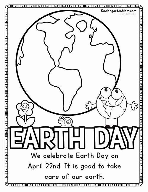 Earth Day Worksheets for Preschoolers Lovely Earth Day Printables Kindergarten Mom