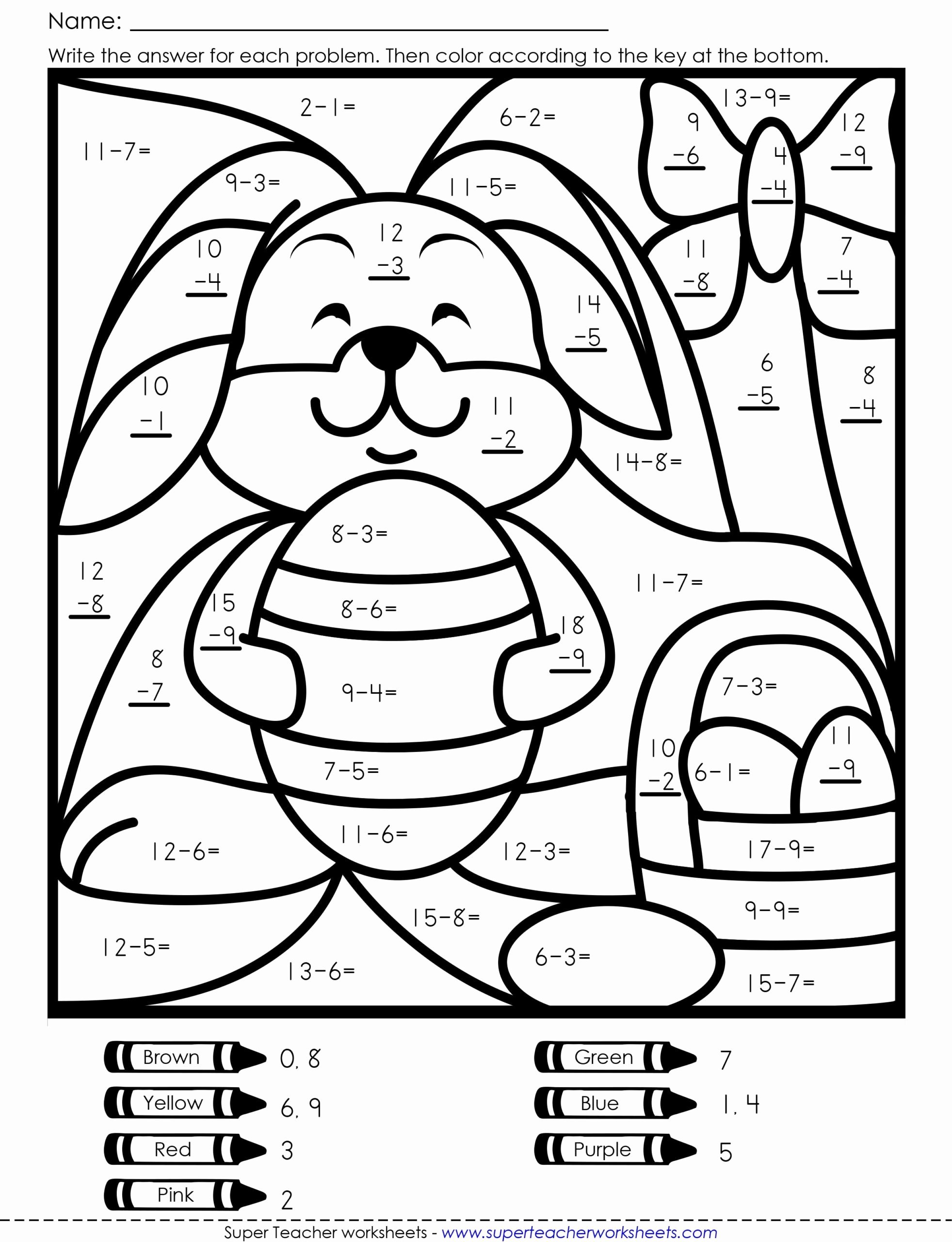 Easter Math Worksheets for Preschoolers Best Of Worksheets Coloring Book Easter Math Free Worksheets 5th