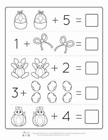 Easter Math Worksheets for Preschoolers Fresh Worksheet Mathets for toddlers Picture Ideas Easter