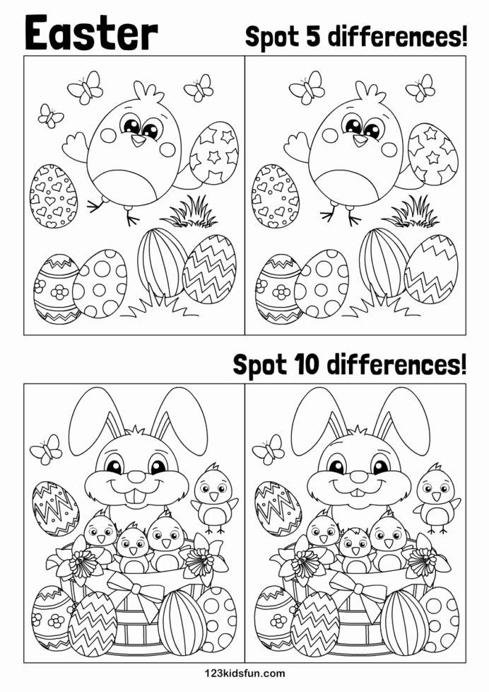Easter Worksheets for Preschoolers Best Of Easter Worksheets Preschool Worksheet Dinosaur Projects for