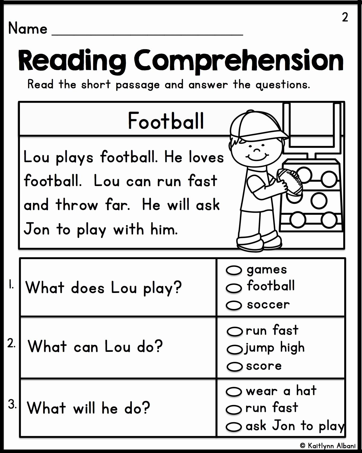 Easy Reading Worksheets for Preschoolers Lovely Kindergarten First Grade Simple Reading Prehension