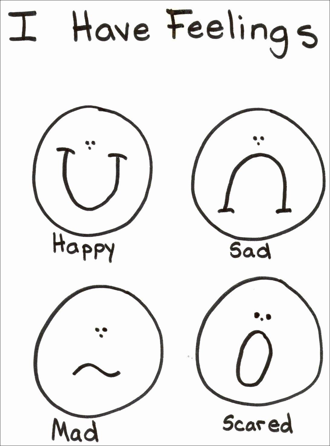 Emotions Worksheets for Preschoolers Ideas Feelings and Emotions Worksheets Printable top 12 Fantastic
