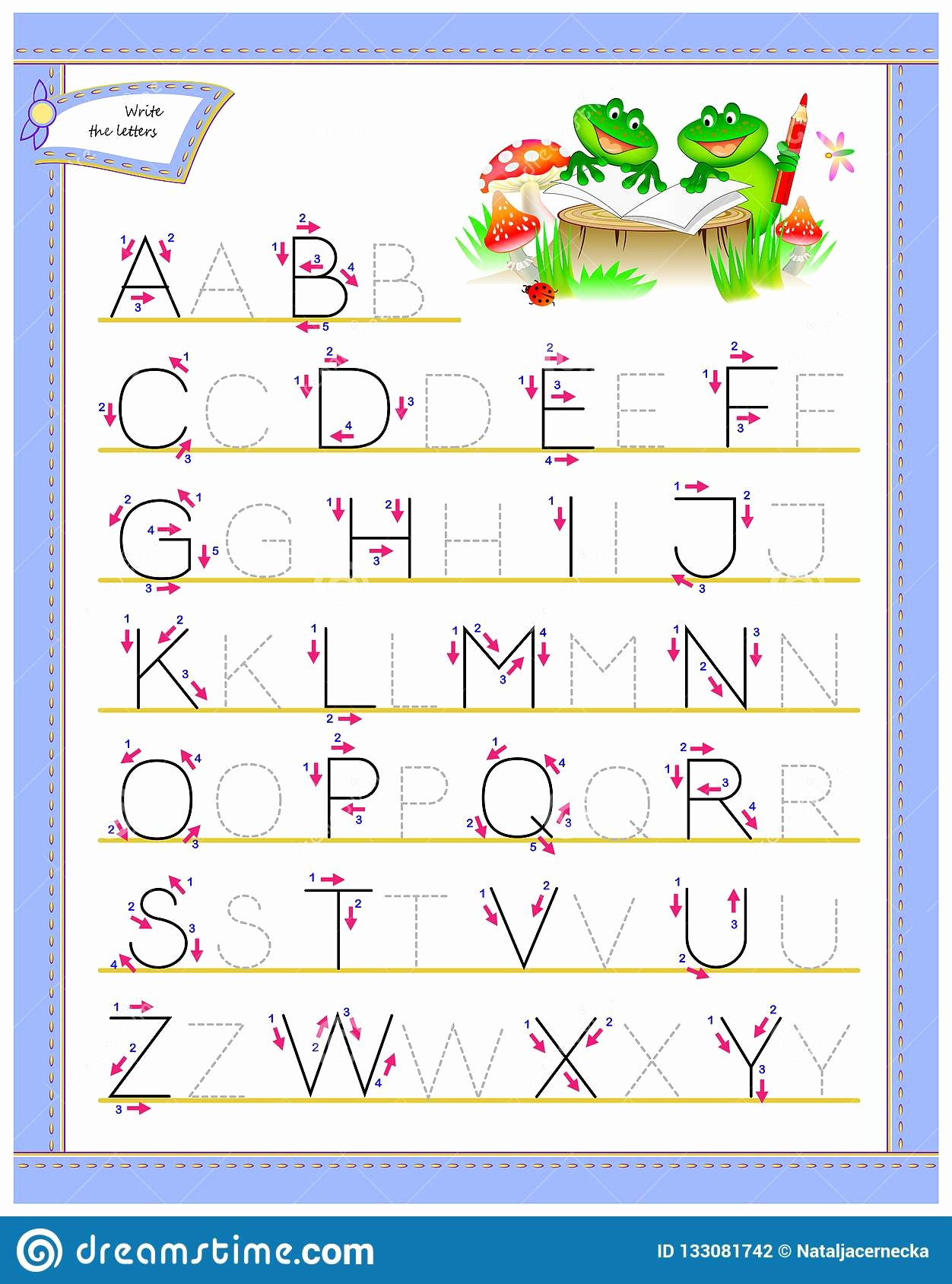 English Alphabet Worksheets for Preschoolers Best Of Tracing Abc Letters for Study English Alphabet Worksheet