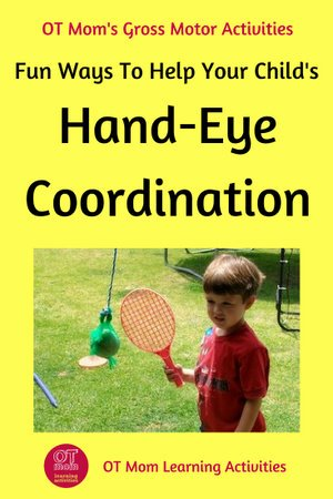 Eye Hand Coordination Worksheets for Preschoolers Lovely Hand Eye Coordination Activities for Kids