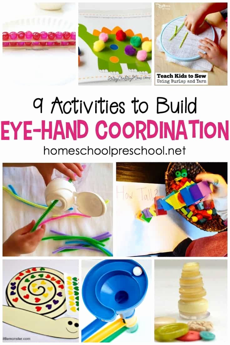 Eye Hand Coordination Worksheets for Preschoolers New 9 Eye Hand Coordination Activities for tots and Preschoolers